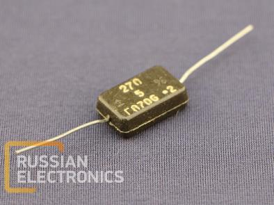 Capacitors KSOT-2 270pF 500V 5%